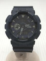クォーツ腕時計/デジアナ/BLK/NVY/GA-110DC-1AJF