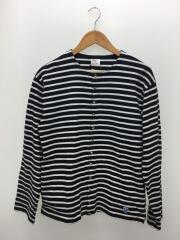 BEAMS別注/カーディガン(薄手)/5/コットン/ボーダー