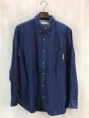 ワールドワーカーズ/MXRN17M/Chambray Shirts/シャンブレーシャツ/M/コットン/IDG