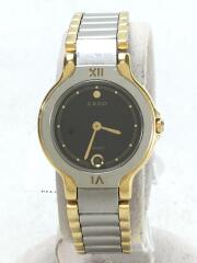 セイコー/3E29-0120/CREO/クレオ/クォーツ腕時計/アナログ/ステンレス/BLK/SLV