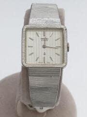 セイコー/16-5860/アンティーク/クォーツ腕時計/アナログ/ステンレス/SLV/SLV