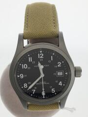 ハミルトン/H69419933/カーキ・フィールド・メカニカル/自動巻腕時計/アナログ/キャンバス