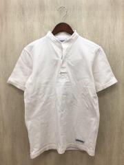 ×UNITED ARROWS/別注バンドカラーラガーシャツ/S/コットン/WHT/ホワイト/無地