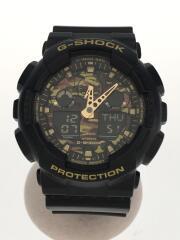 カシオ/GA-100CF-1A9JF/クォーツ腕時計・G-SHOCK/デジアナ/BLK