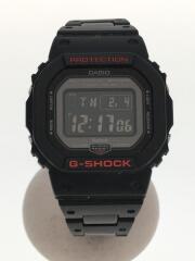 カシオ/GW-B5600HR-1JF/ソーラー腕時計・G-SHOCK/デジタル/BLK