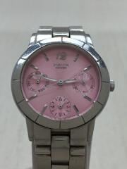 シチズン/6329-S004942/WICCA/ウィッカ/クォーツ腕時計/アナログ/ステンレス/PNK/SLV