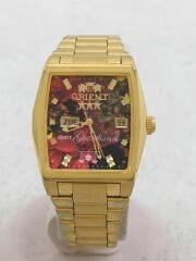 オリエント×アイズビットガーディアン/NQAC-N1/自動巻腕時計/アナログ/ステンレス