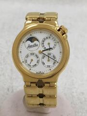 JEAN D EVE/ジャンイブ/5524.62/ムーンフェイズ/トリプルカレンダー/クォーツ腕時計