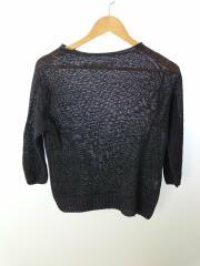 セーター(薄手)/2/リネン/NVY/FADED LINEN/2018年製/ベルギーリネン&フレンチリネン