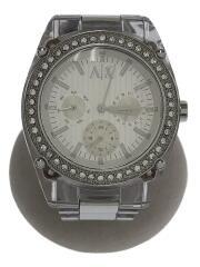 AX5041/クォーツ腕時計/アナログ/--/WHT/CLR