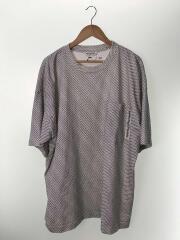 cotton jersey logo big T-dress/36/コットン/リザイズ/ワンピース/ビッグT