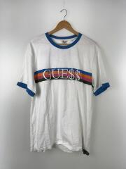 Tシャツ/XL/コットン/WHT