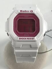クォーツ腕時計・Baby-G/デジタル/WHT