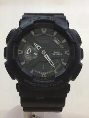 クォーツ腕時計・G-SHOCK/デジアナ/ラバー/BLK/