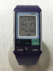 クォーツ腕時計/デジタル/ラバー
