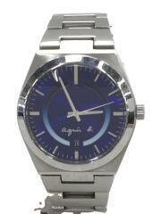 クォーツ腕時計/アナログ/ステンレス/BLU/7N32-0DH0
