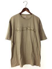 Tシャツ/XL/コットン/BEG