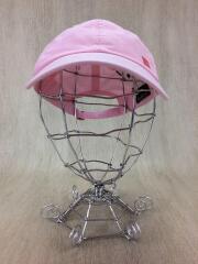キャップ/コットン/PNK/CARLO FACE OX/light pink baseball cap