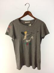 Tシャツ/TATTOO PRINT T-SHIRT/汚れ有/M/NB3MG05X3G9/コットン/グレー