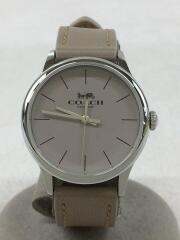 CA117.7.112.1534/クォーツ腕時計/アナログ/レザー/グレー
