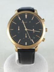 クォーツ腕時計/アナログ/レザー/FCRT966