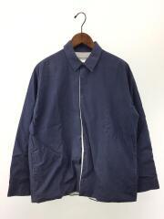 E-15460/長袖シャツ/M/コットン/ブルー