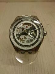 ジャズマスタービュマチック/コマ付き/H425550/自動巻腕時計/アナログ/ステンレス/SLV