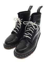 WHITE WELT/ホワイトウェルト/8ホール/1460/ブーツ/UK9/ブラック/黒/レザー