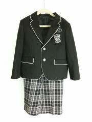 スーツ/110cm/ポリエステル/BLK