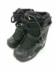 スノーボードブーツ/23.5cm/シューレース/BLK