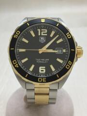クォーツ腕時計/アナログ/ステンレス/BLK/SLV/WAZ1121.BB0879/フォーミュラー1/ダイバーズ FORMULA1