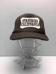 スタンダードカリフォルニア/メッシュキャップ/--/BRW/ブラウン