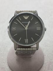 クォーツ腕時計/アナログ/ステンレス/SLV/SLV/エンポリオアルマーニ/AR80030