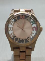 クォーツ腕時計/アナログ/ステンレス/MBM3264/ヘンリースケルトン
