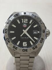 クォーツ腕時計・タグホイヤー フォーミュラ1/アナログ/ステンレス/BLK/SLV