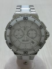 クォーツ腕時計・フォーミュラ1レディフルダイヤモンドクロノグラフ/CAH1213/ホワイト/FORMULA1