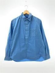 Kavuri Shirts/turquoise/ESS-12426A/M/コットン/ブルー/無地