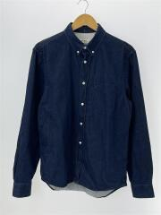 Isherwood Button-down Collar Denim Shirt/SIZE:46/コットン/インディコ