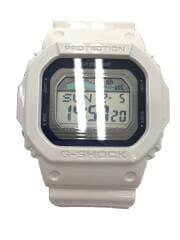 クォーツ腕時計/デジタル/ラバー/GRY/WHT/GLX-5600RHW-7BJR