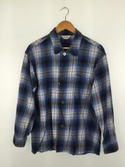 アンユーズド/ombre check pajama shirt/15SS/長袖シャツ/2/コットン/チェック