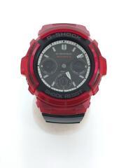 カシオ/ソーラー腕時計・G-SHOCK/デジアナ/AWG-M100SRB-4AJF