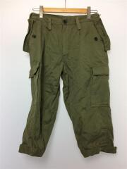 イタリア軍/クロップドパンツ/ショートパンツ/コットン/KHK/50-8-L