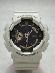 クォーツ腕時計・G-SHOCK/デジアナ/BLK/WHT