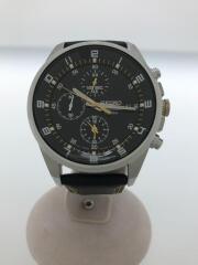 セイコー/SBTR021/8Tクロノグラフ/クォーツ腕時計/アナログ/BLK/BLK
