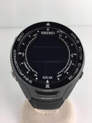 セイコー/S830-00A0/ソーラー腕時計/デジタル/ラバー/BLK/BLK