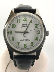 hmt/手巻腕時計/アナログ/--/WHT/BLK