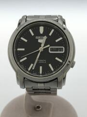 セイコー/7S26-03S0/自動巻腕時計/アナログ/ステンレス/SLV