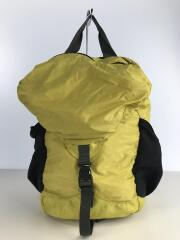 Lightweght travel pack/ナイロン/YLW//リュック バックパック  ライトウェイト トラベルパック