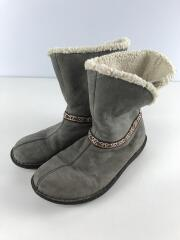 Galena Mid/ブーツ/25cm/GRY/レザー/1011470