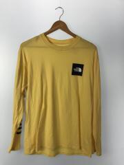 NT31910R/STANDARD SLEEVE TEE /長袖Tシャツ/L/コットン/YLW